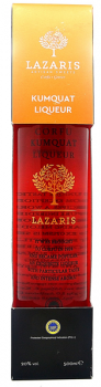 Kumquat Likör Lazaris P.G.I - 500ml - 20% vol.