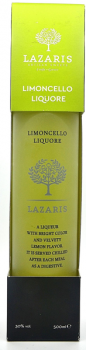 Lazaris Limoncello - Zitronen Likör - 500ml - 30% vol.