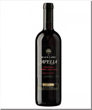 Kourtaki Apelia Black Label - Rot - Imiglykos - 750ml
