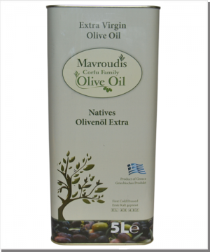 Mavroudis Natives Olivenöl Extra - 5 Liter