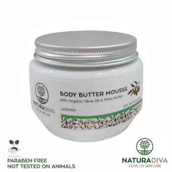 Body Butter Mousse Jasmin - Body Butter Mousse Jasmine