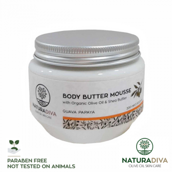 Body Butter Mousse Guave Papaya - Body Butter Mousse Guava Papaya