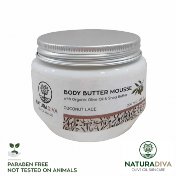 Body Butter Mousse Kokosnuss - Body Butter Mousse Coconut