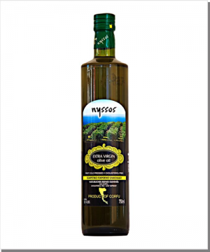 Nyssos Natives Olivenöl Extra - 750 ml