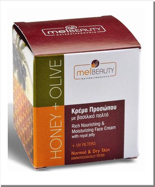 gesichtscreme honig olive f r normale trockene haut ihr portal f r produkte aus korfu und. Black Bedroom Furniture Sets. Home Design Ideas