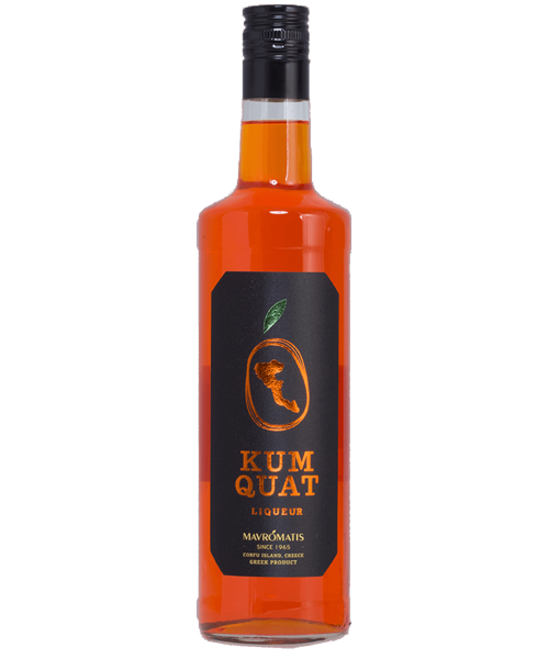 Kumquat Likör Mavromatis - 700ml - 20% vol.
