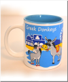Greek Donkeys Eselbecher blau