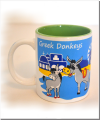 Greek Donkeys Eselbecher grün